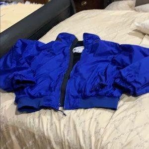 Men's Columbia fleece lined jacket Large
